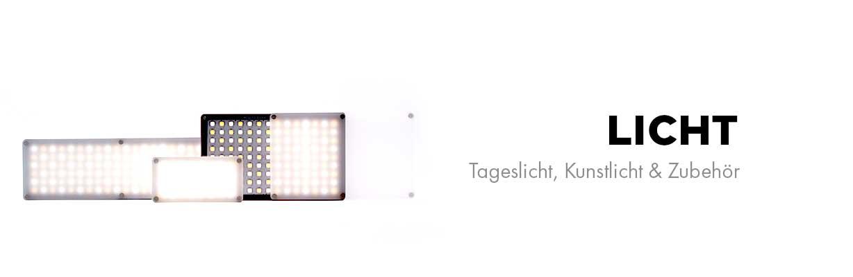 Licht - Tageslicht, Kunstlicht & Zubehör