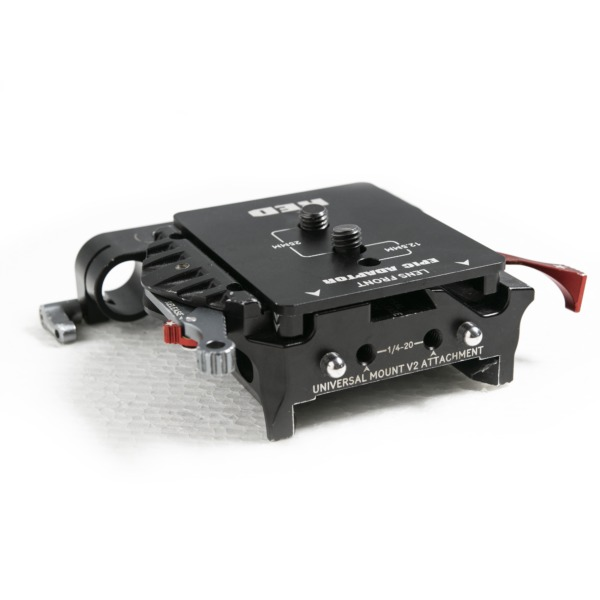 RED DSMC quick release system & 19mm rod support